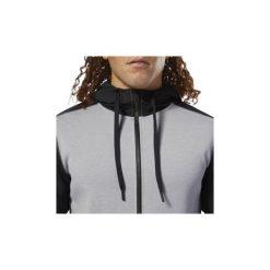 Bluzy Reebok Sport  Bluza z kapturem Training Supply. Szare bluzy męskie rozpinane Reebok Sport, m, z kapturem. Za 279,00 zł.