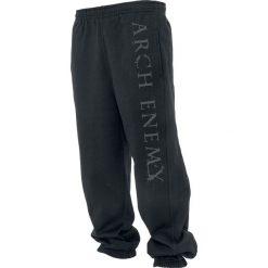 Arch Enemy Logo Spodnie dresowe czarny. Czarne spodnie dresowe męskie Arch Enemy, z dresówki. Za 164,90 zł.