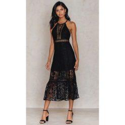 Stroje dwuczęściowe damskie: Free People Sukienka Maxi Anastasia - Black