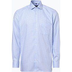 Andrew James - Koszula męska niewymagająca prasowania, niebieski. Niebieskie koszule męskie na spinki Andrew James, m, z bawełny. Za 179,95 zł.