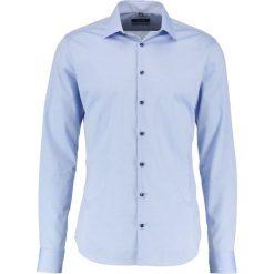 Koszule męskie na spinki: Seidensticker XSLIM FIT KENT PATCH Koszula biznesowa hellblau
