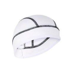 Czapka Pod Kask Na Rower 700 Aquafreeze. Białe czapki męskie marki B'TWIN, z materiału. Za 29,99 zł.