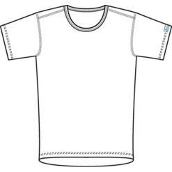 Odlo Koszulka męska Shirt s/s crew neck Warm biała r. M (152032). T-shirty męskie Odlo, m. Za 94,32 zł.