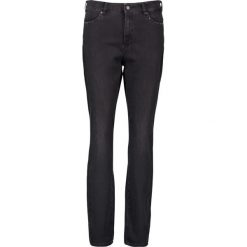 """Spodnie z wysokim stanem: Dżinsy """"Audrey"""" w kolorze czarnym"""
