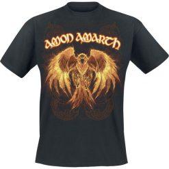 Amon Amarth Burning Eagle T-Shirt czarny. Czarne t-shirty męskie z nadrukiem Amon Amarth, s, z dekoltem na plecach. Za 74,90 zł.