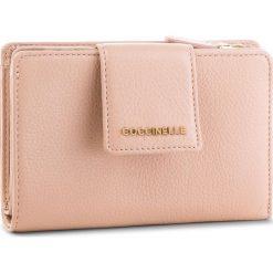 Duży Portfel Damski COCCINELLE - DW5 Mettallic Soft E2 DW5 11 67 01 Pivoine P08. Czarne portfele damskie marki Coccinelle. Za 549,90 zł.