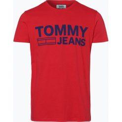 T-shirty męskie: Tommy Jeans – T-shirt męski, czerwony