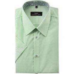 Koszula FABIO 15-01-19. Brązowe koszule męskie na spinki marki QUECHUA, m, z elastanu, z krótkim rękawem. Za 129,00 zł.