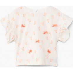 Bluzki dziewczęce: Mango Kids – Top dziecięcy Pepita 80-104 cm