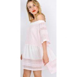 Sukienki: Sukienka hiszpanka z gipiurą