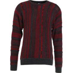 BOSS CASUAL KANIZAY Sweter open red. Czerwone swetry klasyczne męskie BOSS Casual, l, z bawełny. W wyprzedaży za 374,50 zł.