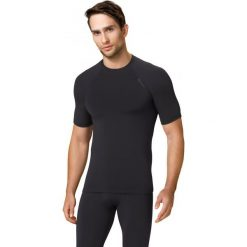 Odzież sportowa męska: Gwinner Koszulka męska TOP V WARMline czarna r. XL