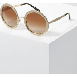 Dolce&Gabbana Okulary przeciwsłoneczne brown gradient. Brązowe okulary przeciwsłoneczne damskie aviatory Dolce&Gabbana. Za 1089,00 zł.