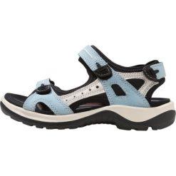 Ecco OFFROAD Sandały trekkingowe blue. Niebieskie sandały trekkingowe damskie ecco, z materiału. Za 459,00 zł.