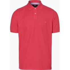 Koszulki polo: Fynch Hatton – Męska koszulka polo, czerwony