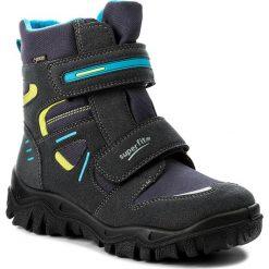 Buty zimowe chłopięce: Śniegowce SUPERFIT – GORE-TEX 1-00080-81 D Ocean Kombi