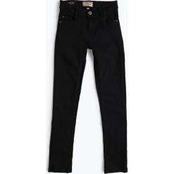 Review - Jeansy chłopięce – Slim Fit, niebieski. Czarne jeansy chłopięce marki bonprix, z nadrukiem. Za 119,95 zł.