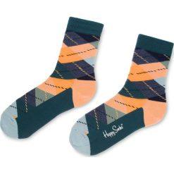 Skarpety Wysokie Unisex HAPPY SOCKS - ARY01-2004 Kolorowy. Szare skarpetki damskie Happy Socks, w kolorowe wzory, z bawełny. Za 34,90 zł.
