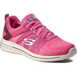 Buty SKECHERS - Burst 2.0 12651/HPK Hot Pink. Czerwone buty do fitnessu damskie Skechers, z materiału. W wyprzedaży za 189,00 zł.