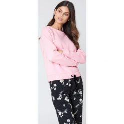 Minimum Bluza Timian - Pink. Różowe bluzy rozpinane damskie Minimum, z długim rękawem, długie. W wyprzedaży za 85,19 zł.
