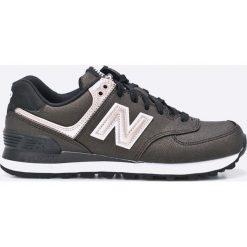 New Balance - Buty WL574SFH. Szare buty sportowe damskie marki New Balance, z materiału. W wyprzedaży za 199,90 zł.