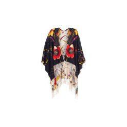 Swetry Desigual  FRESHK. Szare swetry klasyczne damskie marki Desigual, l, z tkaniny, casualowe, z długim rękawem. Za 314,10 zł.