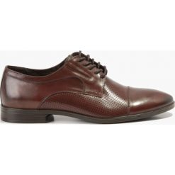 Półbuty wizytowe brązowe. Brązowe buty wizytowe męskie Badura. Za 263,99 zł.