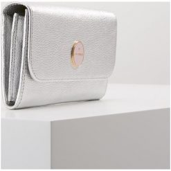 Coccinelle LUNAIRE Portfel silver. Czarne portfele damskie marki Coccinelle. Za 599,00 zł.