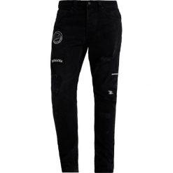 Spodnie męskie: Only & Sons ONSCARROT PATCH Jeansy Zwężane black denim