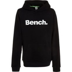 Bench CORE HOODY  Bluza z kapturem black. Czarne bluzy chłopięce rozpinane marki Bench, z bawełny, z kapturem. W wyprzedaży za 152,10 zł.