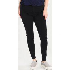 Only Carmakoma CARRAINY PUSHUP Jeans Skinny Fit black. Czarne boyfriendy damskie Only Carmakoma. Za 129,00 zł.
