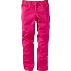 Legginsy dżinsowe bonprix ciemnoróżowy XXL. Czerwone legginsy dziewczęce bonprix. Za 27,99 zł.