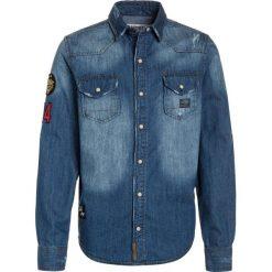 Kaporal RENIM Koszula blue denim. Niebieskie bluzki dziewczęce bawełniane Kaporal. Za 249,00 zł.