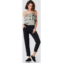 Spodnie damskie: Rut&Circle Spodnie Amera - Black
