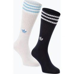 Adidas Originals - Skarpety męskie pakowane po 2 szt., niebieski. Niebieskie skarpetki męskie adidas Originals, w paski. Za 49,95 zł.