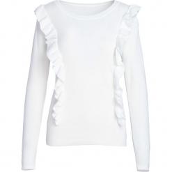 Biały Sweter Hold You. Białe swetry klasyczne damskie Born2be, na jesień, l. Za 29,99 zł.