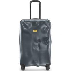 Walizka Icon duża matowa szara. Szare walizki marki Crash Baggage, z materiału. Za 1120,00 zł.