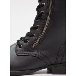 Botki damskie lity: Head over Heels by Dune RACHEY Botki sznurowane black