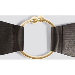 Paski damskie: Trendyol Pasek Big Ring - Black