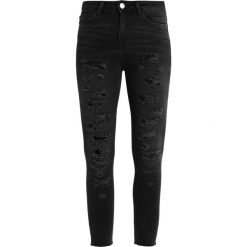 New Look Petite ELVIS  Jeans Skinny Fit black. Czarne rurki damskie New Look Petite, petite. Za 139,00 zł.