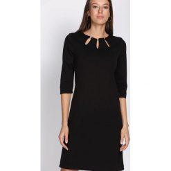 Czarna Sukienka Proper Date. Czarne sukienki hiszpanki Born2be, xxl, midi, oversize. Za 64,99 zł.