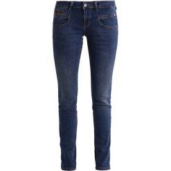 Freeman T. Porter ALEXA  Jeansy Slim Fit flexy night. Niebieskie jeansy damskie marki Freeman T. Porter. W wyprzedaży za 272,35 zł.