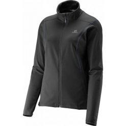 Bluzy sportowe damskie: Salomon Bluza Discovery Fz Midlayer W Black L