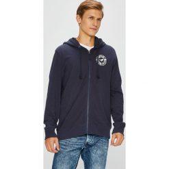 Mustang - Bluza. Czarne bluzy męskie rozpinane marki Mustang, l, z bawełny, z kapturem. W wyprzedaży za 199,90 zł.