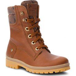 Trapery PANAMA JACK - Tempest B4  Bark. Brązowe buty zimowe damskie Panama Jack, z materiału. Za 789,00 zł.
