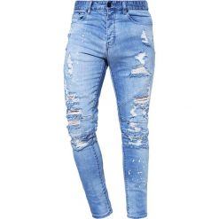 Cayler & Sons Jeansy Zwężane distressed light blue/white. Niebieskie jeansy męskie Cayler & Sons. Za 339,00 zł.