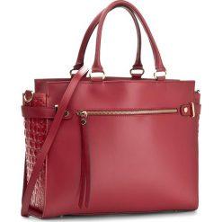 Torebka CREOLE - K10289  Bordowy. Czerwone torebki klasyczne damskie Creole, ze skóry. W wyprzedaży za 279,00 zł.