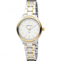 Zegarek kwarcowy w kolorze srebrno-biało-złotym. Szare, analogowe zegarki damskie Esprit Watches, ze stali. W wyprzedaży za 136,95 zł.