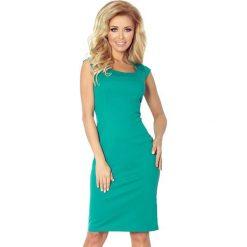 Villette Dopasowana sukienka - zielony. Zielone sukienki balowe marki numoco, s, z materiału, dopasowane. Za 149,99 zł.