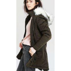 Ciemnozielona Kurtka Search Own Place. Brązowe kurtki damskie zimowe marki QUECHUA, m, z materiału. Za 249,99 zł.